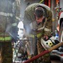 На пожаре погибли инвалиды и три кошки