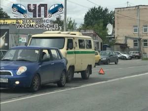 Инкассаторов остановили на дороге в Челябинске