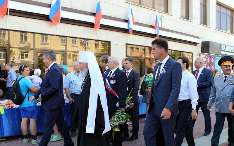 Градоначальники поздравили жителей Брянска с Днем России