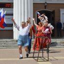 Брянские актеры поддержали сборную России по футболу