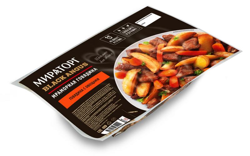 «Мираторг» запустил производство новой линейки блюд измраморной говядины сгарниром