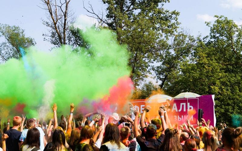 Брянцев приглашают на фестиваль красок
