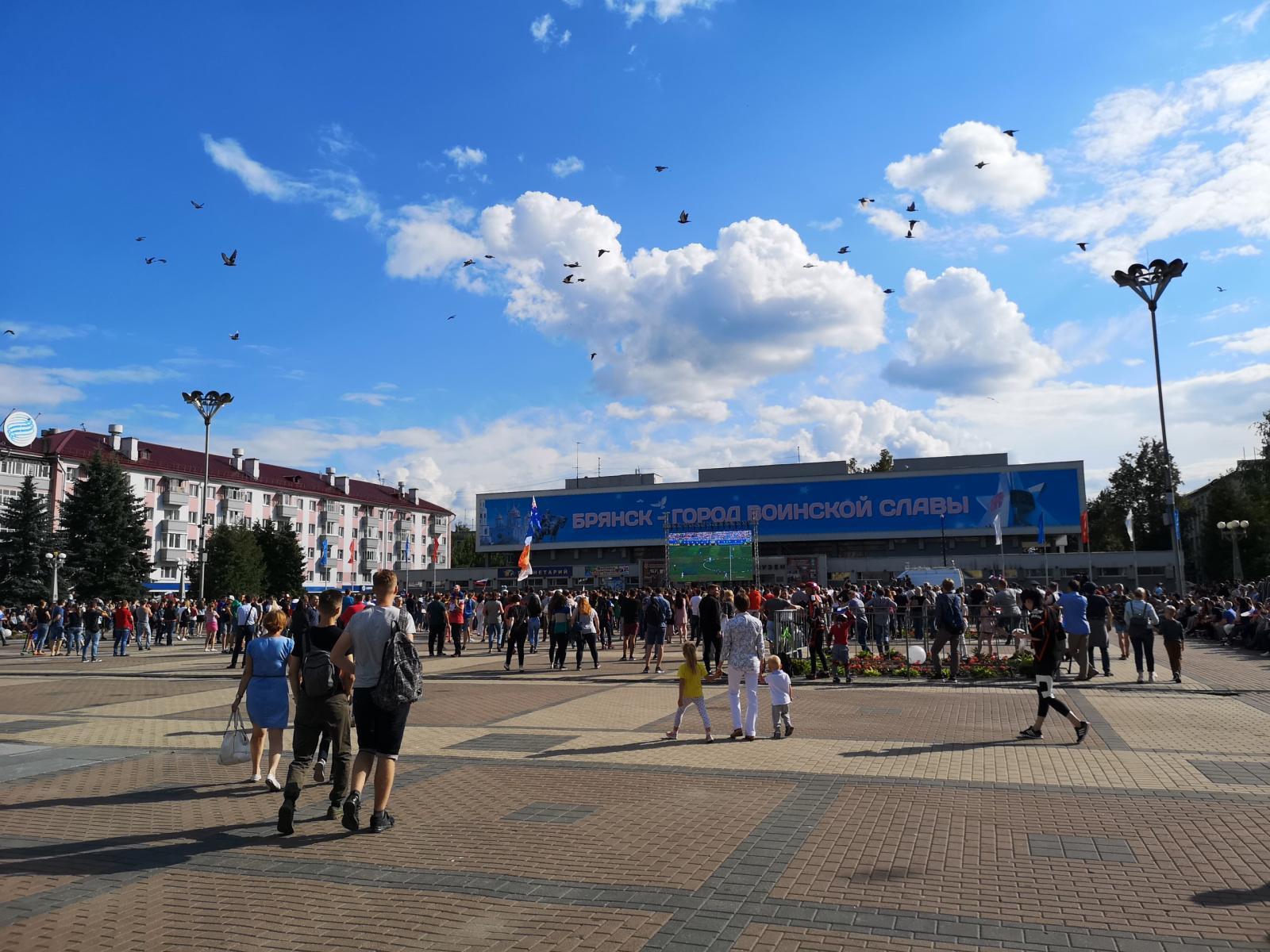 Жителей Брянска расстроило поражение России матче ЧМ-2018