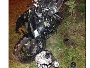 Скончался мотоциклист, который влетел в неогороженную яму на северо-западе