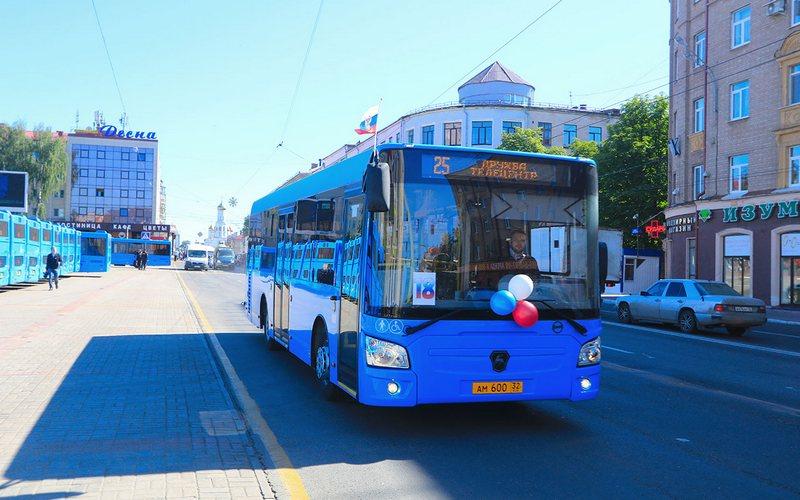В Брянске автобус №25 и троллейбус №14 изменят схемы движения