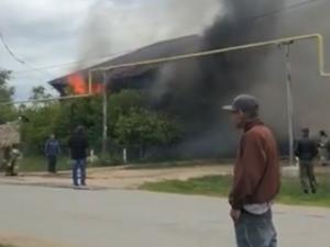 Сгорели письма и посылки: ущерб от пожара на почте оценивают в 500 тысяч (видео)