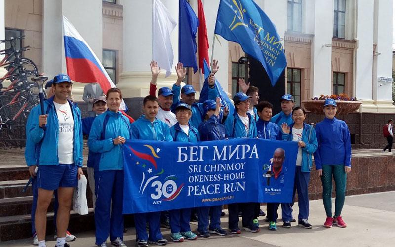 Брянск встретит факельную эстафету «Бег мира»