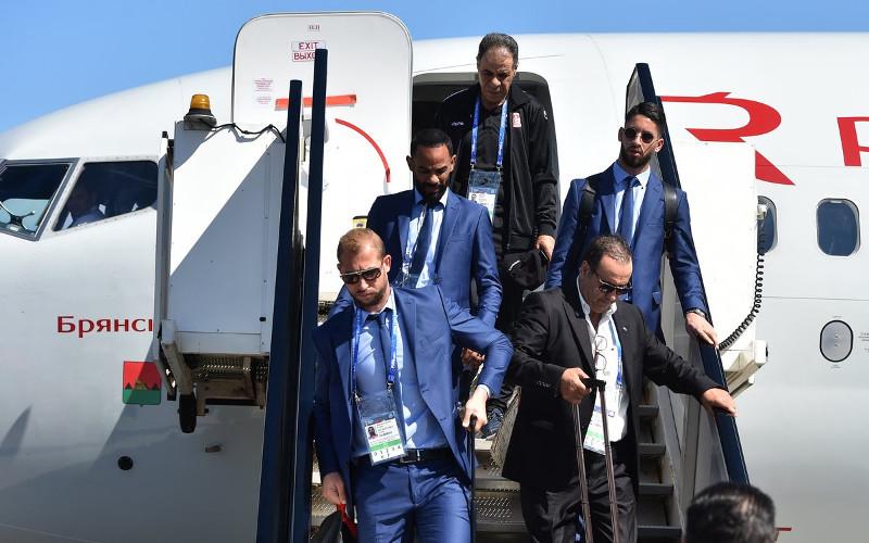 Сборная Туниса прилетела на ЧМ-2018 на «брянском» Боинге