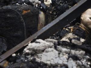 Умер пострадавший на пожаре 4-летний ребенок