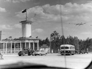 Каким был парк Гагарина  в Челябинске 50 лет назад