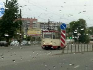 В трамвае на ЧМЗ скончался мужчина