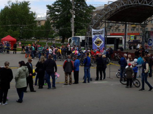 Праздник Дня России уже начали отмечать в Челябинской области