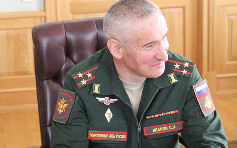 Командиром брянской войсковой части №42685 назначен Сергей Иванов