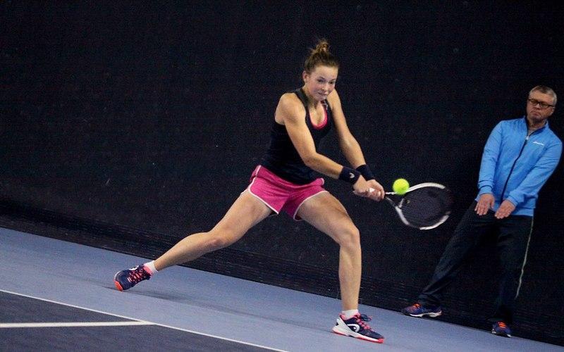 Брянская теннисистка Влада Коваль взяла серебро на первенстве России