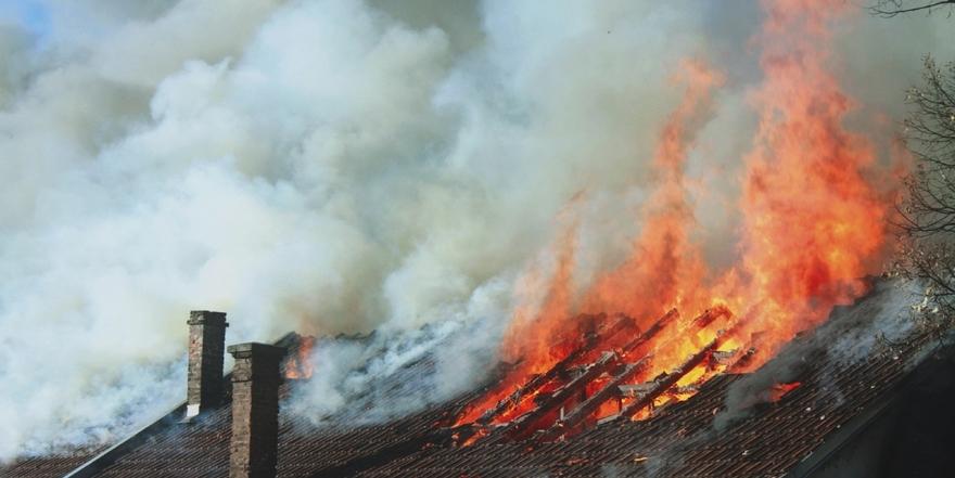 В Почепском районе горела дача