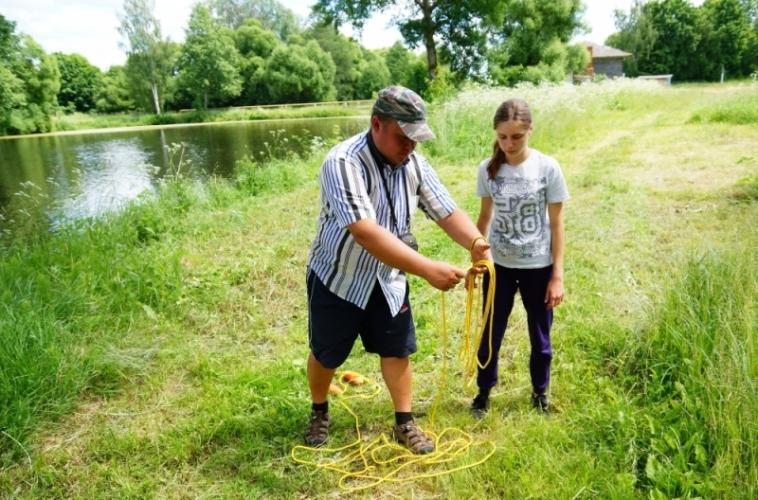 В Брянской области прошел межпоселенческий туристический слет для детей