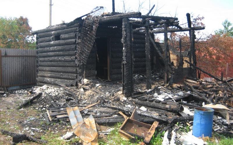 ВСуражском районе дотла сгорел дом
