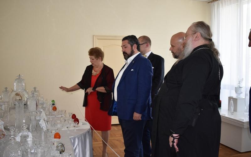 Великий князь Георгий Михайлович посетил Дятьково