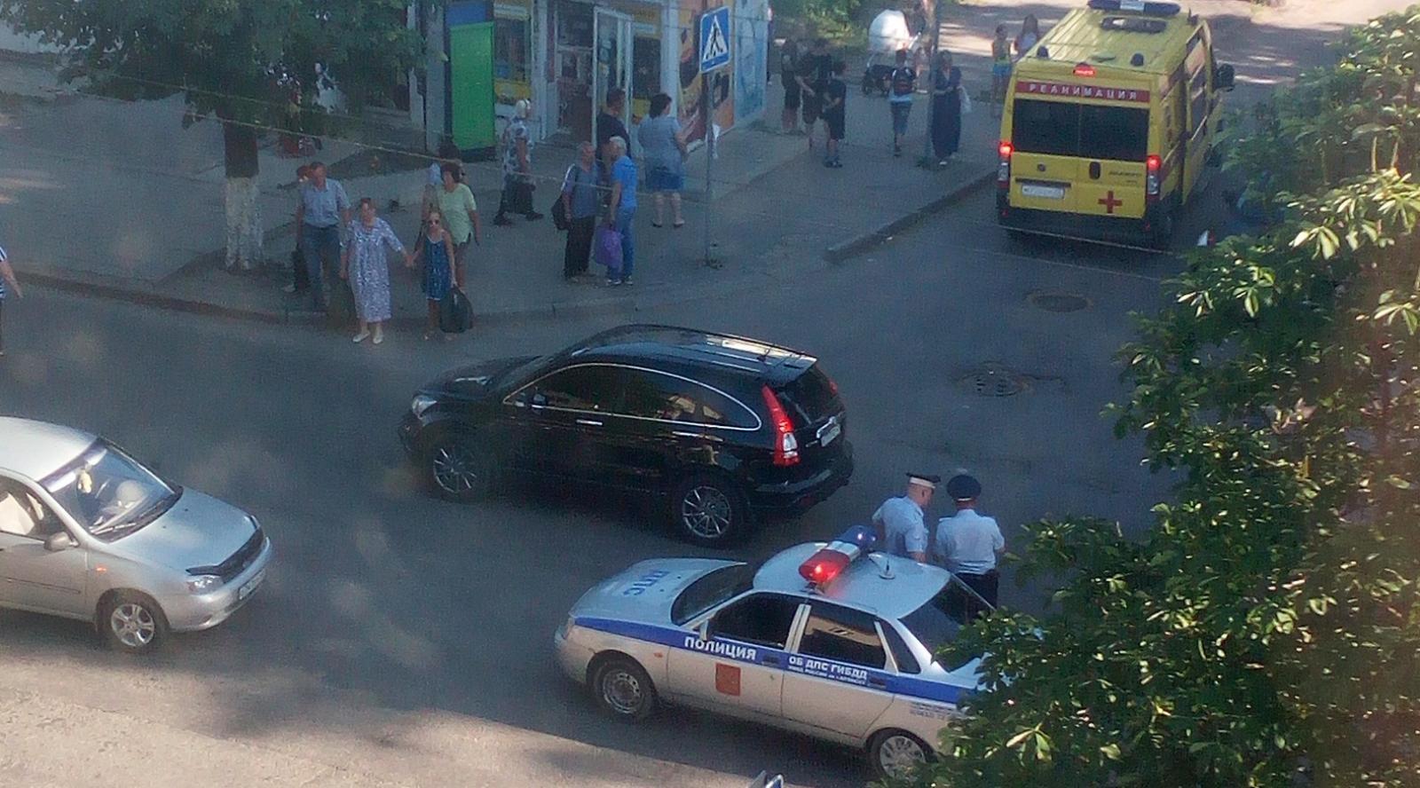 В Брянске сбили девочку на пешеходном переходе