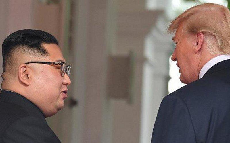 Ким Чен Ынназвал исторической встречу сТрампом