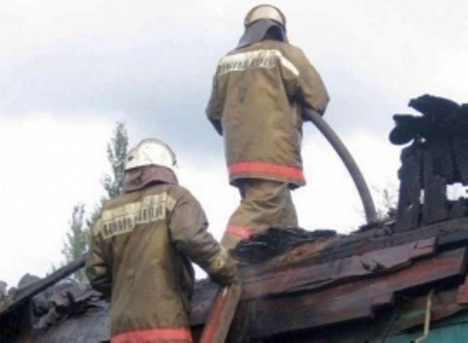 В Стародубском районе сгорела баня