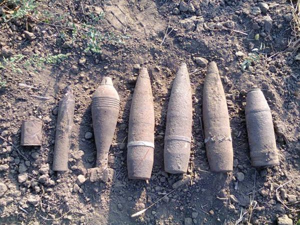 Десятки снарядов обезвредили в Клинцах
