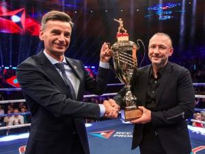 Алтушкина наградили за развитие профессионального бокса