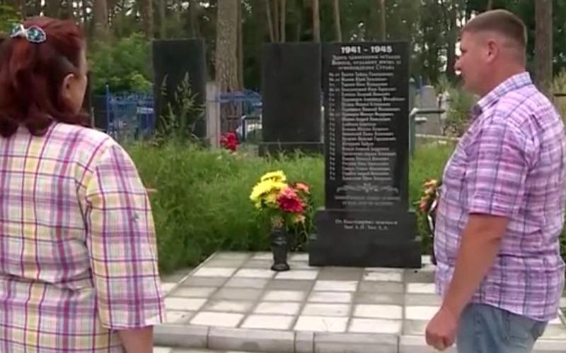 Жители Суража увековечили память погибших красноармейцев