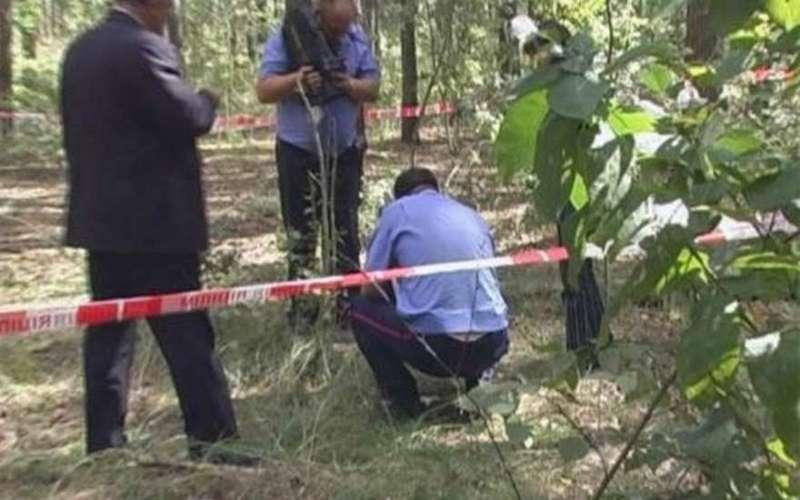 В лесу под Навлей нашли изрезанный труп