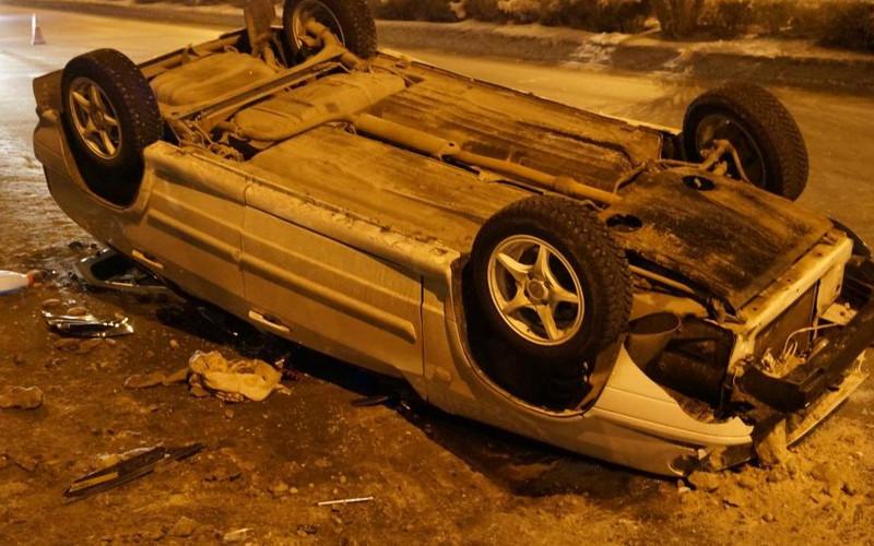 В опрокинувшейся под Брянском машине погиб 23-летний пассажир