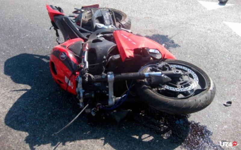В Клетне на Honda Shadow разбился 56-летний байкер