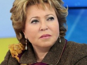 Матвиенко считает, что либеральный проект провалился