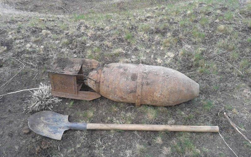 Вунечском лесу нашли бомбу иснаряд