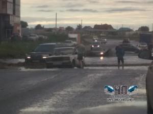Микрорайон уходит под воду. Ошибка дорожных строителей Челябинска