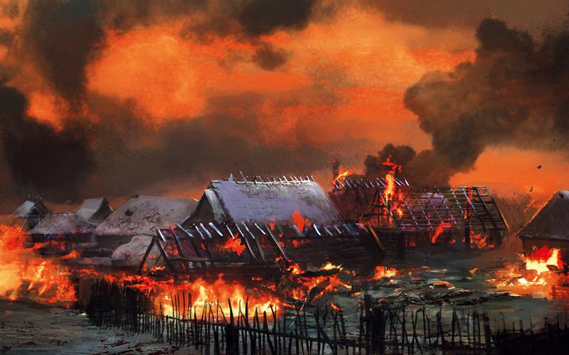 ВХацуни покажут сожженные немцами деревни