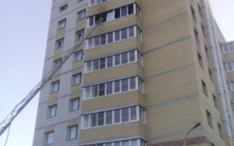 ВБрянске горела квартира