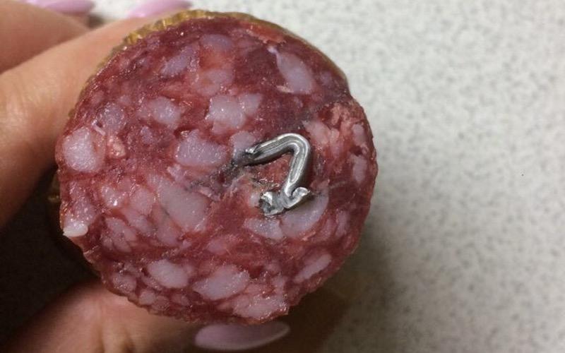 Фото «железной» колбасы позабавило многих брянцев