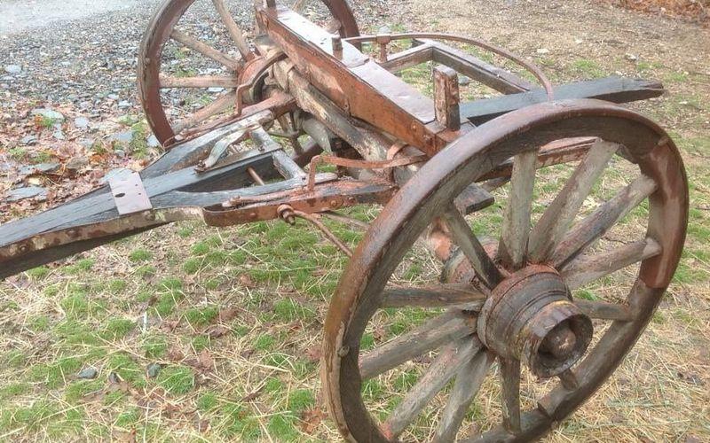 Юные брянцы украли телегу и 130 килограммов металла