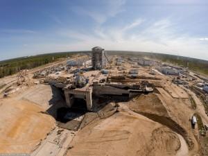 Пустоты под космодромом Восточный заделают за 5 миллионов рублей