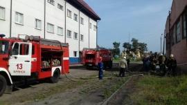 В Брянске сгорела трансформаторная подстанция