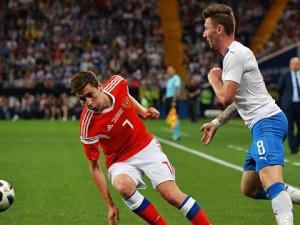 Сборная России победила Чехию с разгромным счетом