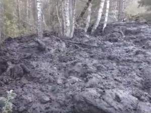 На Урале после землетрясения проснулся вулкан и попал на видео очевидцев