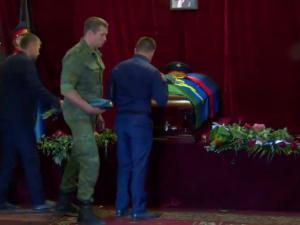На Донбассе прощаются с Александром Захарченко