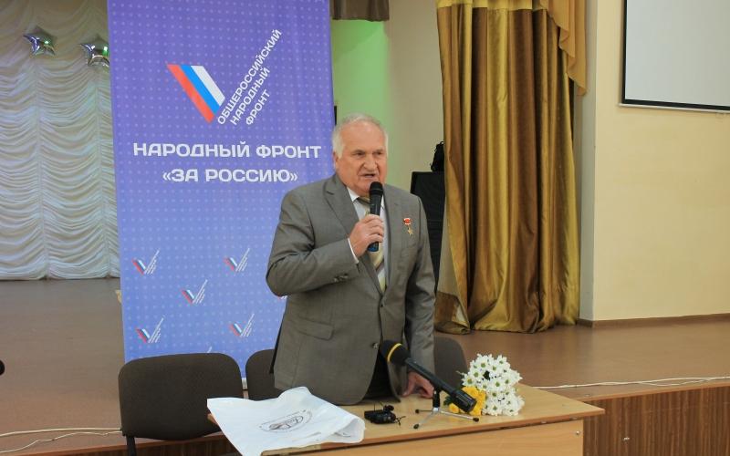 Виктор Афанасьев рассказал брянским школьникам о космосе
