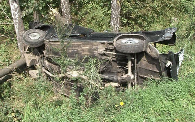 Под Суземкой пьяный водитель едва не угробил свою пассажирку