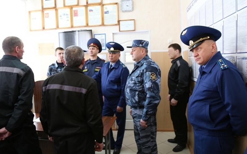 Колония №2 не вызвала нареканий у заместителя брянского прокурора