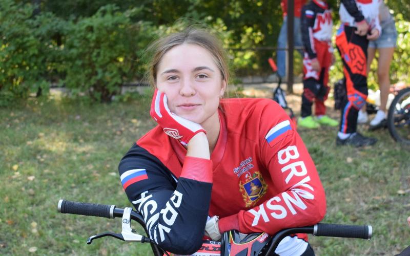 Татьяна Капитанова выиграла в Брянске всероссийские соревнования по BMX
