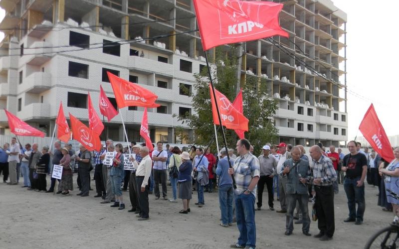 Горстка брянцев собралась на митинг против пенсионной реформы