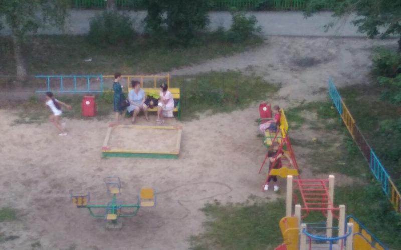 Пьющие на детской площадке молодые мамы поссорили брянцев