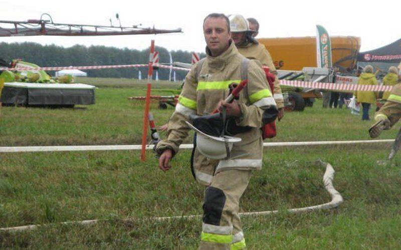 Брянец борется за звание «Лучший лесной пожарный России»